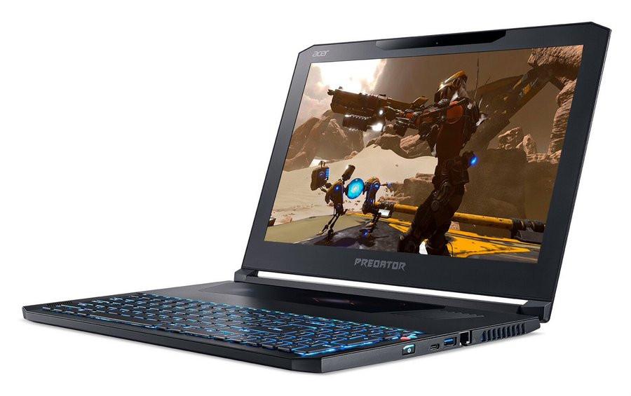 Тонкий игровой ноутбук Acer Predator Triton 700 появился в Российской Федерации