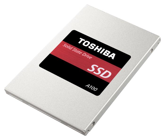 SSD Toshiba A100 получили фирменный контроллер TC58NC1010