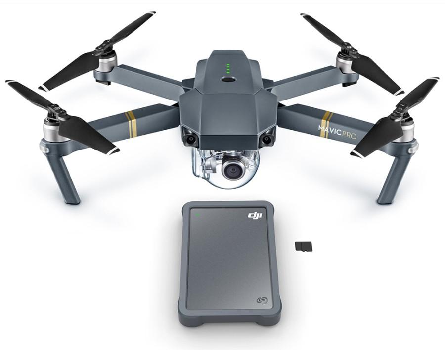 Внешний накопитель Seagate DJI Fly Drive нацелен наработу сдронами